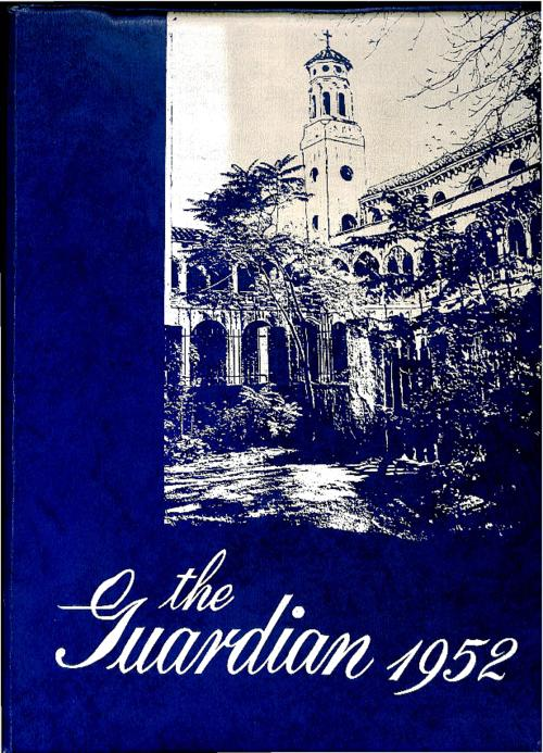 The Guardian was the yearbook of Cathedral High School
