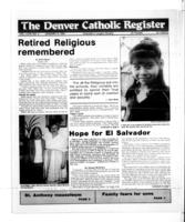 Denver Catholic Register January 9, 1991
