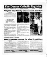 Denver Catholic Register February 20, 1991