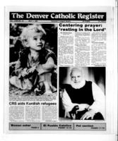 Denver Catholic Register May 1, 1991