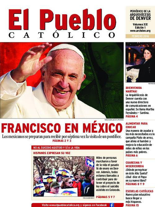 Spanish language newspaper.  No January 2016 edition was published