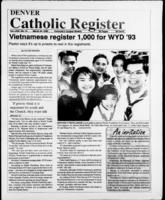 Denver Catholic Register March 24, 1993