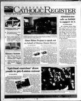 Denver Catholic Register February 12, 1997