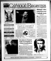 Denver Catholic Register August 13, 1997