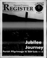 Denver Catholic Register August 25, 1999