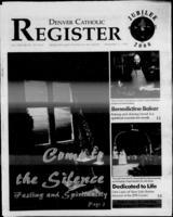 Denver Catholic Register November 3, 1999