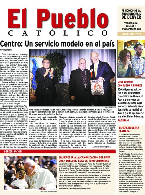 Spanish language newspaper-Supplement introducing online capability