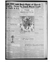 National Catholic Register November 23, 1958