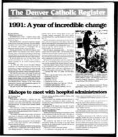Denver Catholic Register January 1, 1992