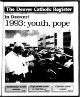 Denver Catholic Register April 15, 1992