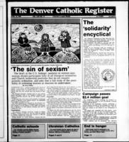 Denver Catholic Register April 13, 1988
