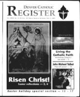 Denver Catholic Register April 11, 2001