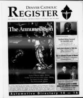 Denver Catholic Register April 10, 2002