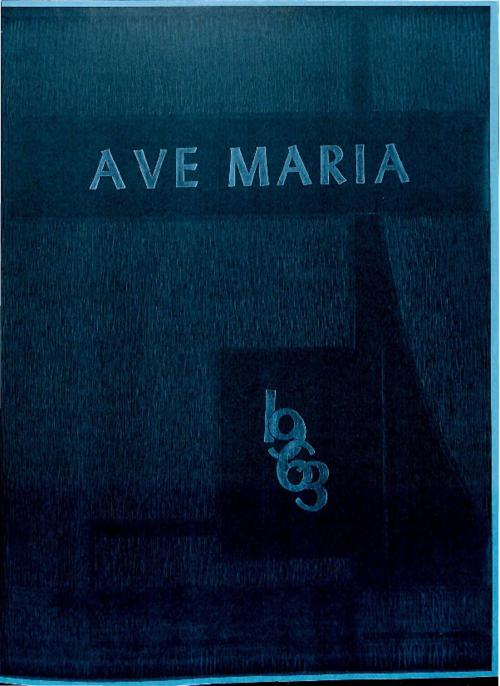 Ave Maria was the yearbook for Our Lady of Mount Carmel High School.  This is a version that was reproduced by an alum.
