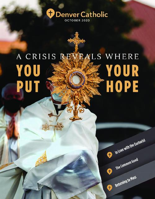 This is the magazine of the Archdiocese of Denver