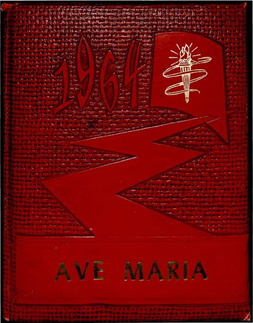 Ave Maria was the yearbook for Our Lady of Mount Carmel High School