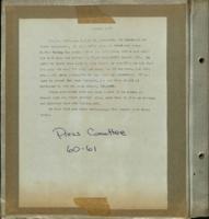 ST PHILOMENA'S scrapbook  1960-1961