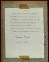 ST PHILOMENA'S scrapbook  1961-1962