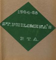 ST PHILOMENA'S scrapbook  1964-1965