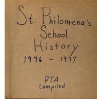 ST PHILOMENA'S scrapbook  1976-1977 (2)