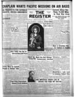 National Catholic Register January 21, 1945
