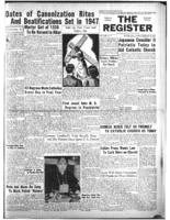 National Catholic Register February 16, 1947