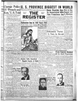 National Catholic Register April 20, 1947