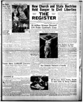 National Catholic Register April 3, 1949