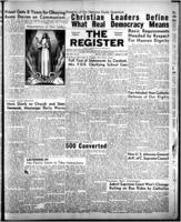 National Catholic Register August 14, 1949