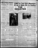 National Catholic Register August 21, 1949
