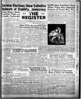 National Catholic Register August 28, 1949