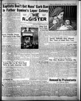 National Catholic Register December 25, 1949