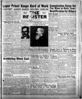 National Catholic Register January 8, 1950