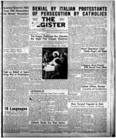 National Catholic Register January 22, 1950