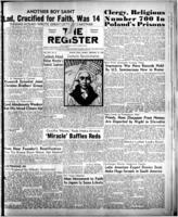 National Catholic Register February 19, 1950