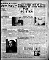 National Catholic Register March 5, 1950