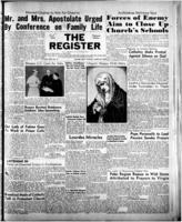 National Catholic Register March 26, 1950