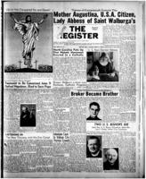 National Catholic Register April 9, 1950
