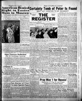 National Catholic Register April 16, 1950