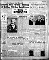 National Catholic Register April 23, 1950