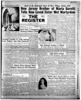 National Catholic Register May 7, 1950