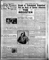 National Catholic Register May 21, 1950