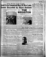 National Catholic Register May 28, 1950