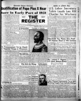 National Catholic Register July 30, 1950