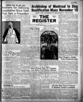 National Catholic Register August 27, 1950