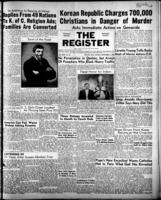 National Catholic Register September 3, 1950