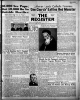 National Catholic Register September 17, 1950