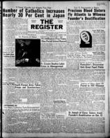 National Catholic Register October 1, 1950