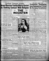 National Catholic Register October 22, 1950