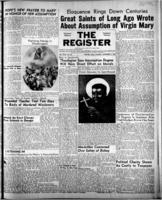 National Catholic Register November 5, 1950